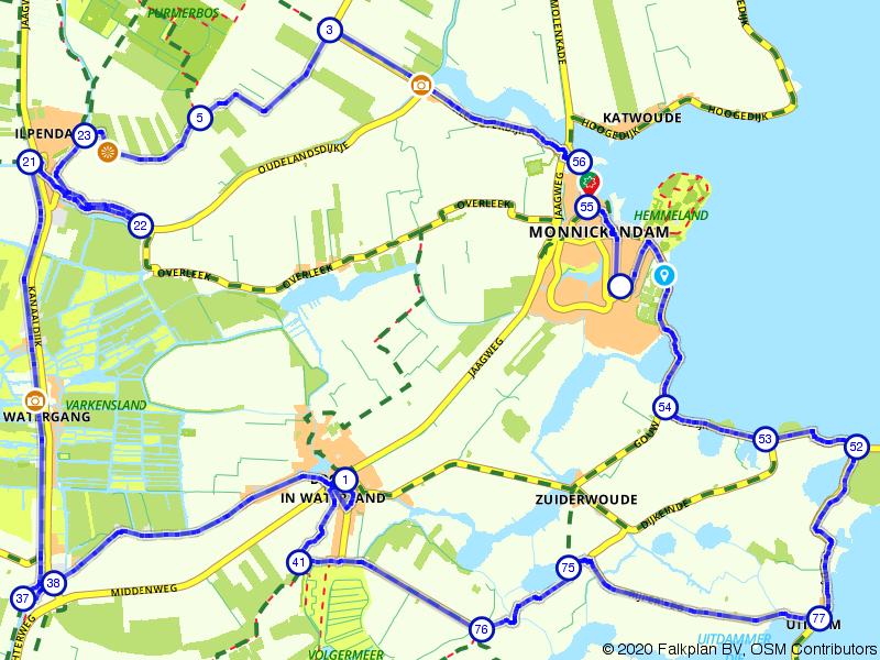 Rondje Waterland en Ilperveld vanuit Monnickendam
