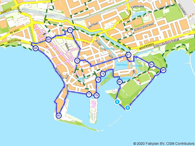 Stadswandeling Hoorn: Oosterpoort en Markermeer