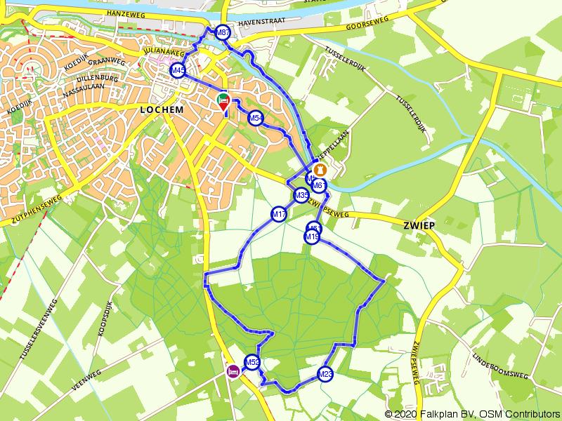 Happen en Stappen naar de Lochemseberg