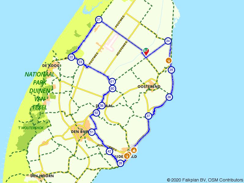 Rondje Oost Texel