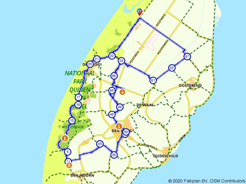 Rondje West Texel