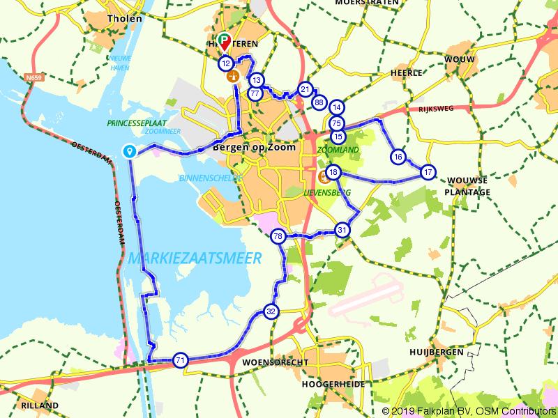 Rondje Bergen op Zoom