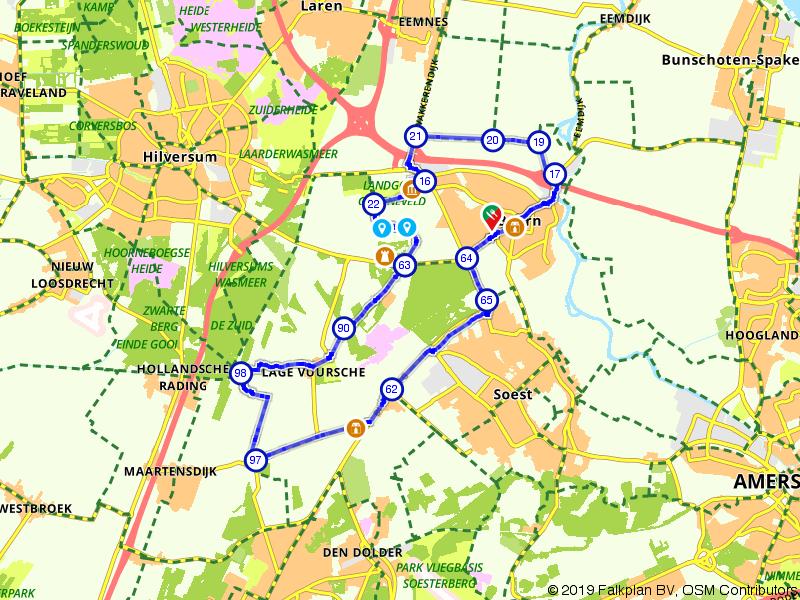 Route met koninklijke allure