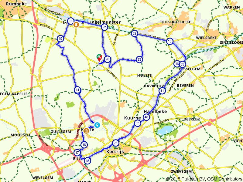 Lendelede, Harelbeke, Kortrijk