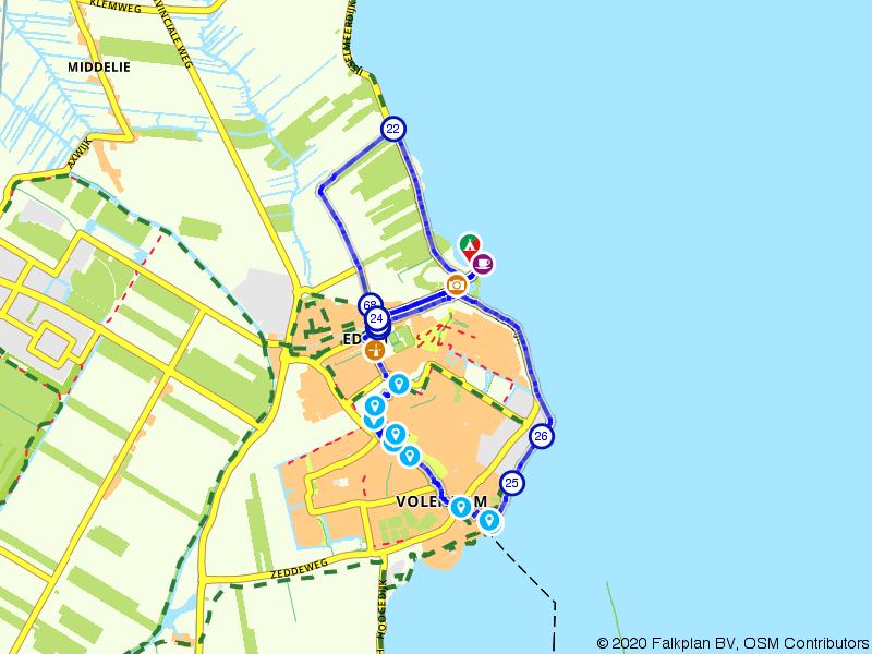 Rondje Edam, Volendam en Markermeer
