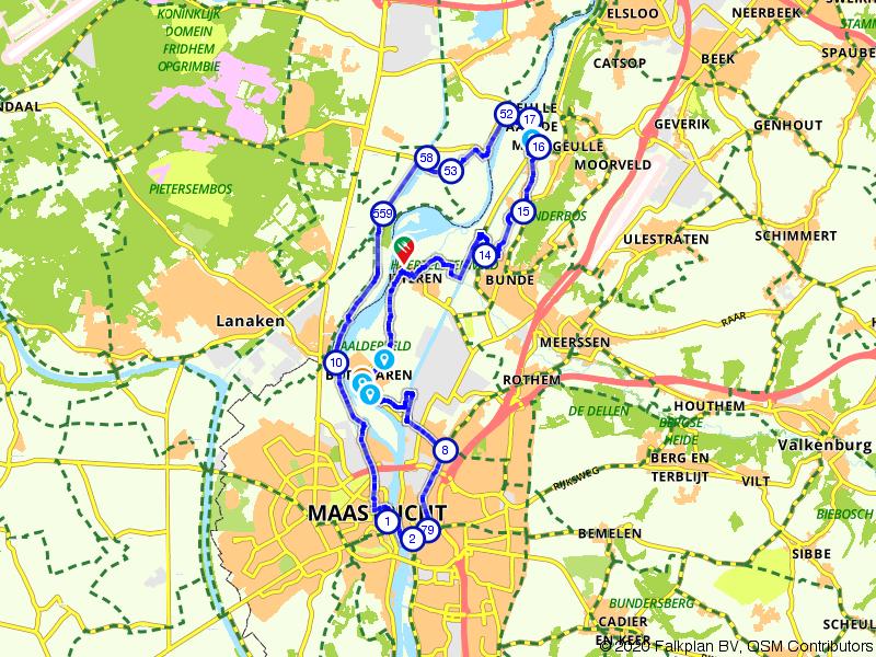 Bunde, Maastricht en Itteren