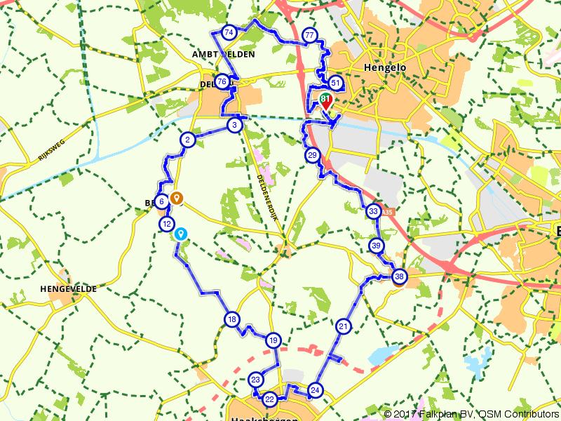 Hengelo, Delden en Haaksbergen