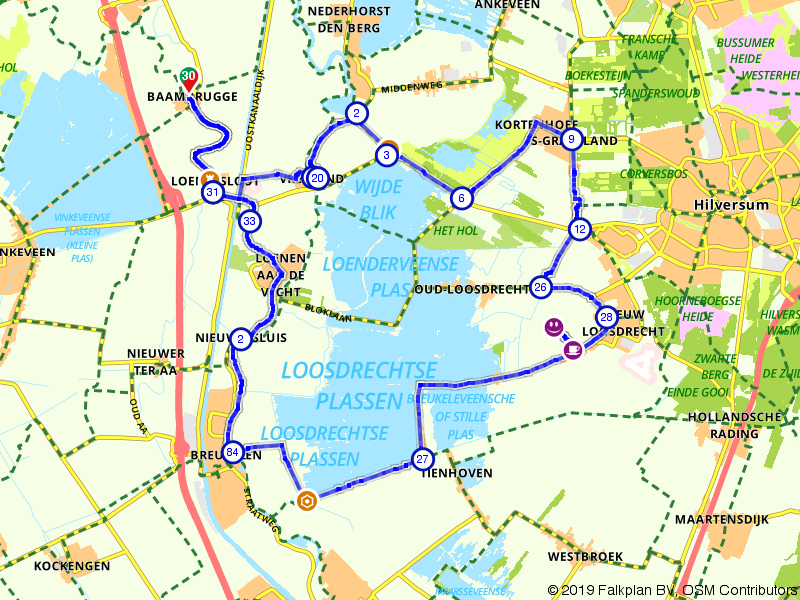 De Loosdrechtse plassen en de Hollandse Waterlinie