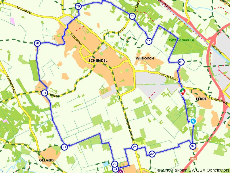 Sint-Oedenrode, Schijndel en Eerde