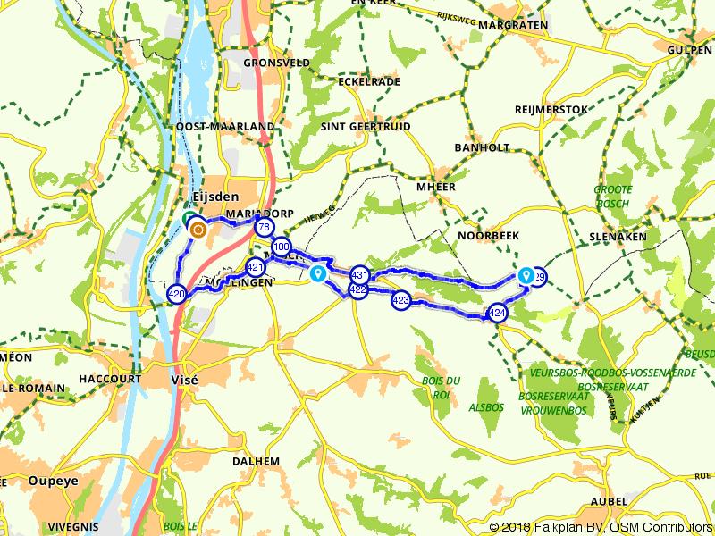 Moelingen, Sint-Martens-Voeren en Eijsden
