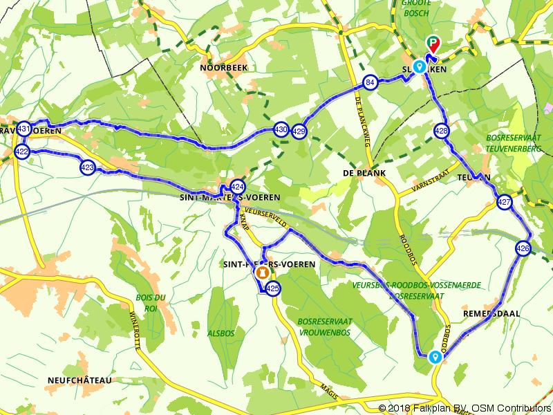 Teuven, Sint-Pieters-Voeren en 's-Gravenvoeren