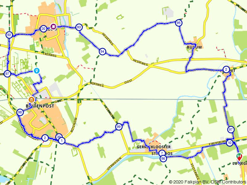 Visvliet, Kollum en Buitenpost