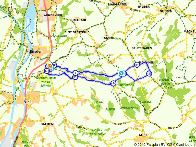 Sint-Martens-Voeren, Slenaken en Mesch