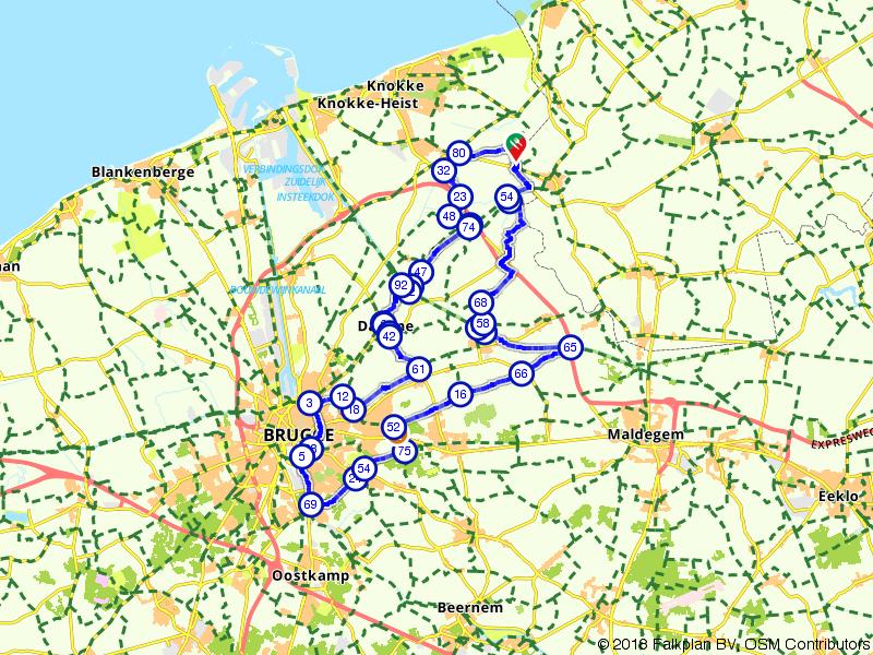 Heille, Brugge en Heille