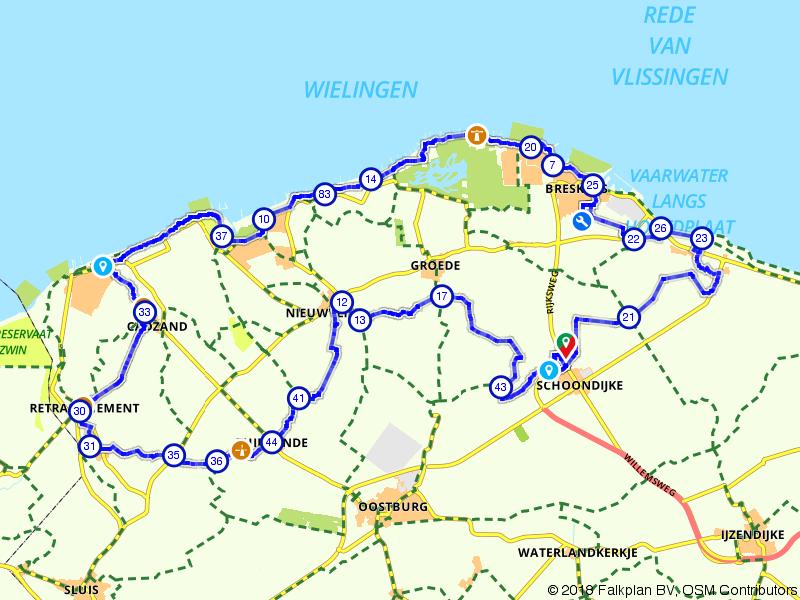 Langs de kust van West-Zeeuws-Vlaanderen