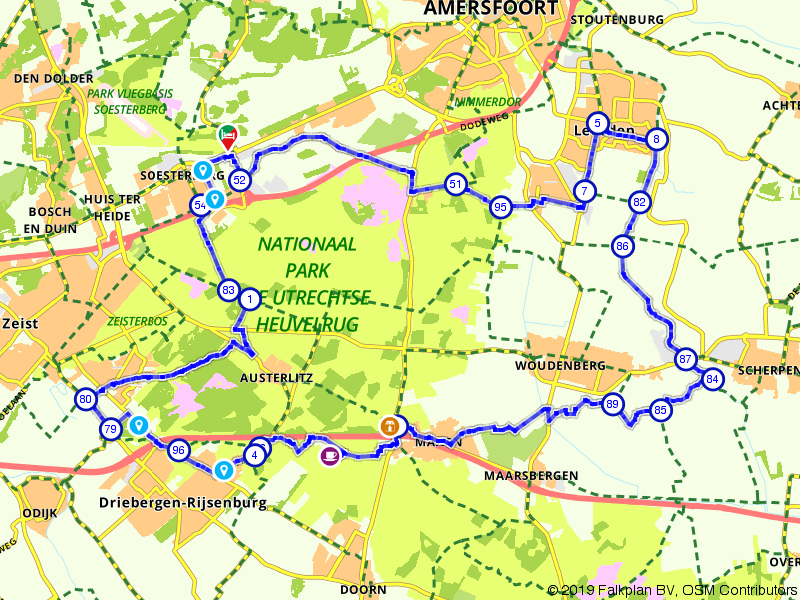 Leusden, Woudenberg en Austerlitz
