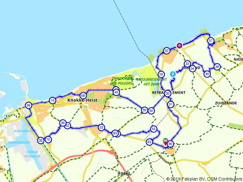 Knokke-Heist, Cadzand-Bad en Sluis