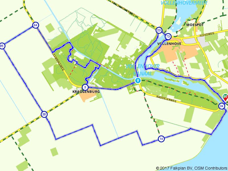 Vollenhove, Kraggenburg en Vollenhove
