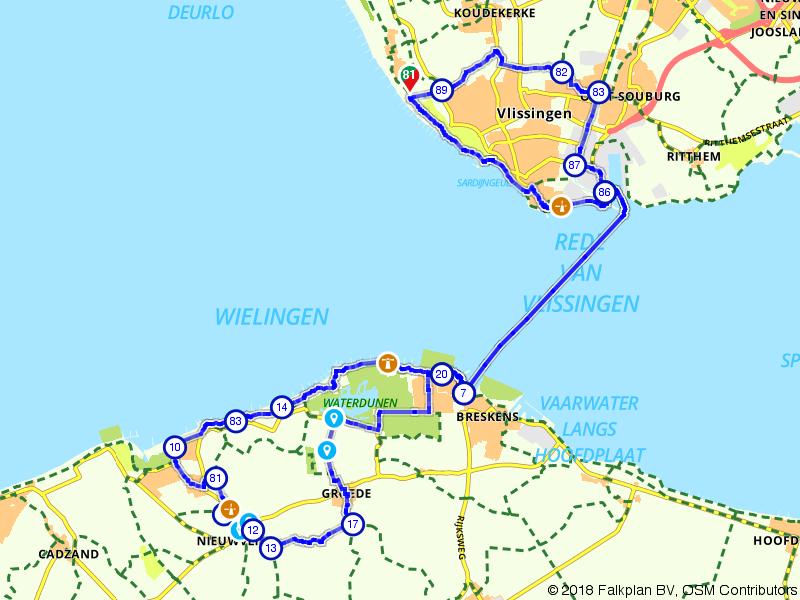 Vlissingen, Breskens en Nieuwvliet