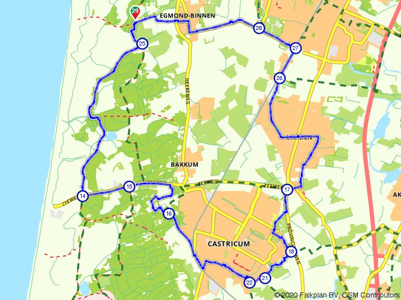 Castricum, Heiloo en Egmond-Binnen