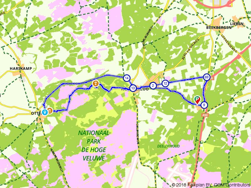 Nationaal Park de Hoge Veluwe: Hoenderloo en Otterlo