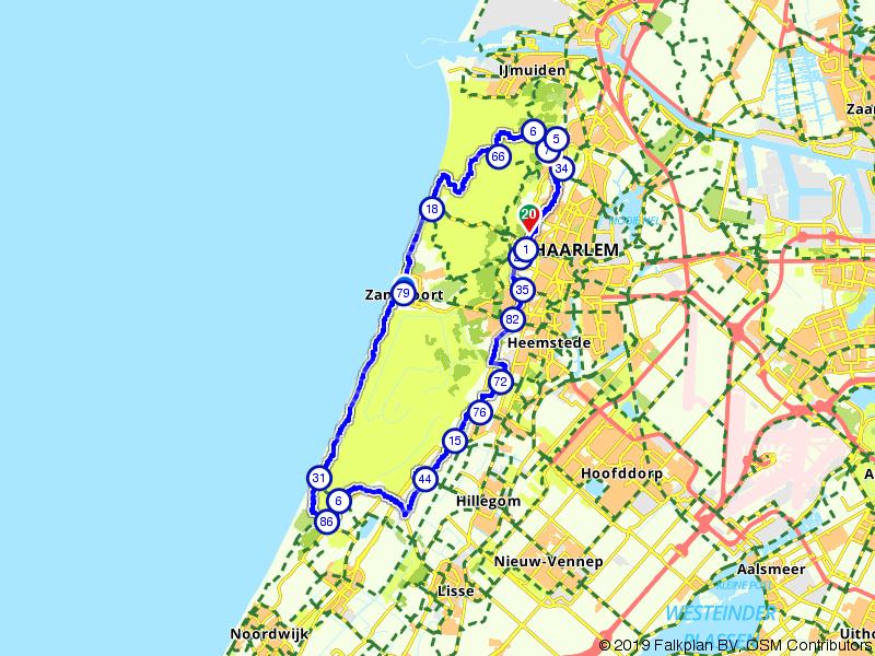 Bloemendaal, Zandvoort en de duinen