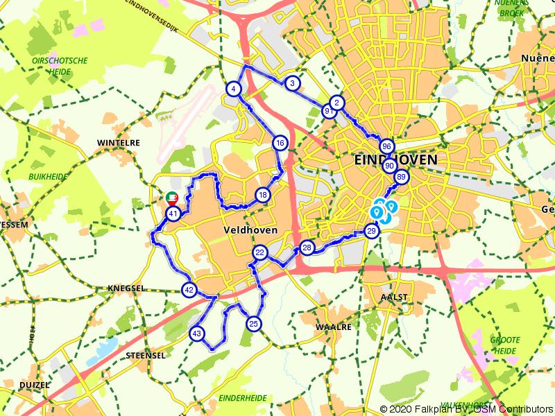 Veldhoven en Eindhoven