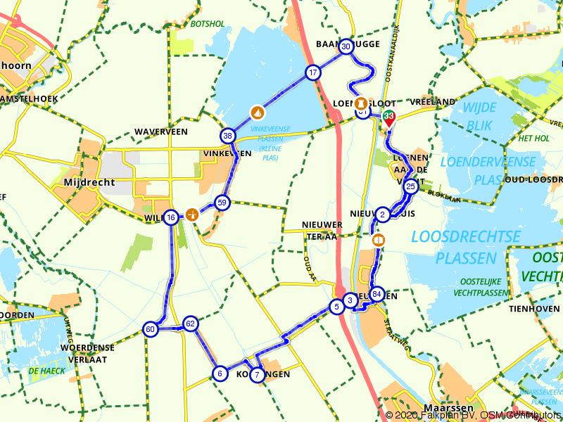 Rondje langs Vinkeveen en Breukelen