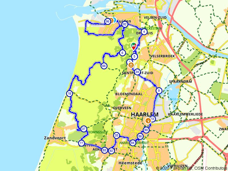 Rondje Nationaal Park Zuid-Kennemerland