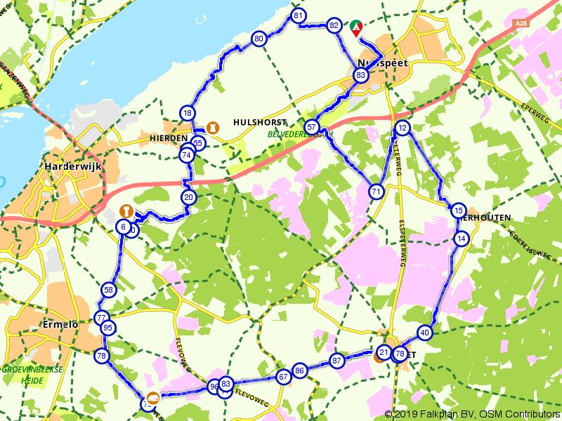 Veluwetrappen: Kasteel De Essenburgh en de Elspeetse Heide