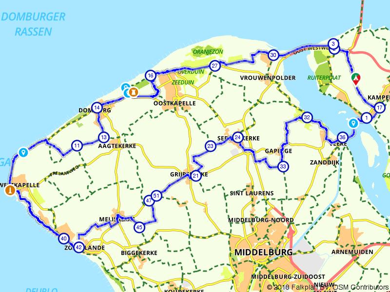 Domburg, Westkapelle en Zoutelande