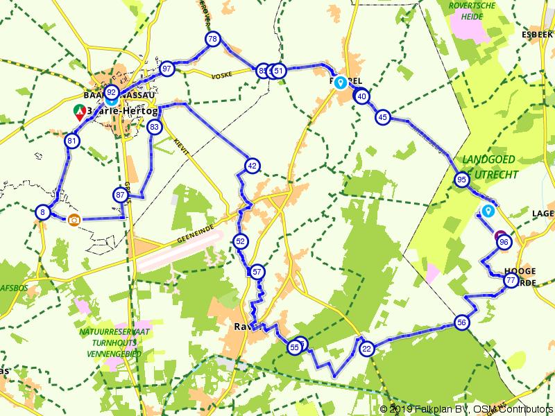 Grenshoppen rondom Baarle-Nassau en Ravels