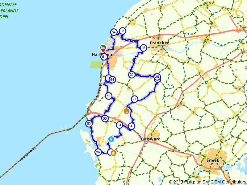 Rondje authentiek Friesland