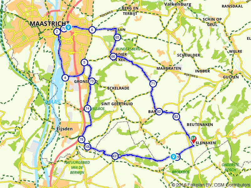 Vanuit Gulpen een bezoek aan Maastricht