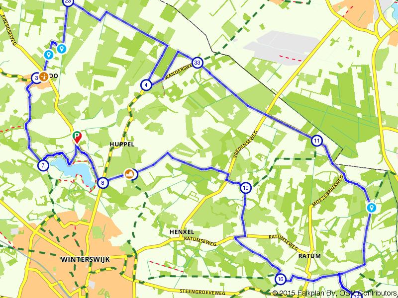 Ronde langs de grens bij Winterswijk
