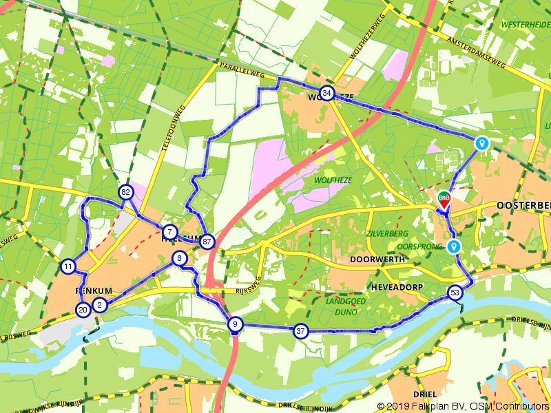 Oosterbeek, Doorwerth en Renkum