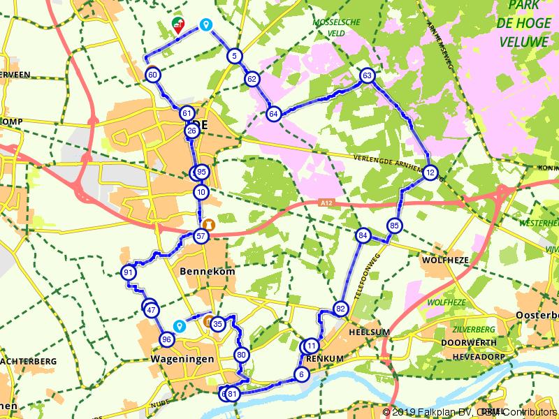 Ede, Wageningen en Renkum