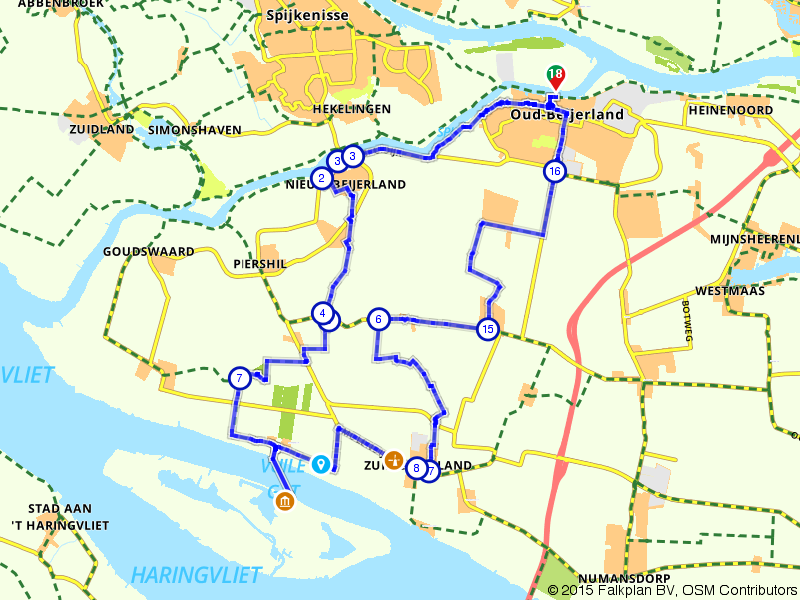 De Drie Beijerlanden route