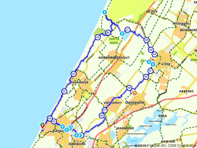 Katwijk Fietst! door de Bollenstreek
