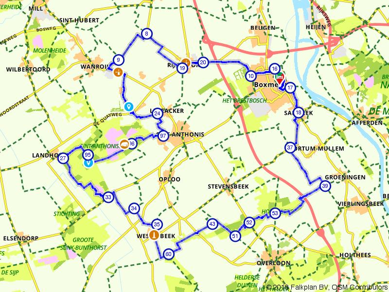 Genieten van het landschap van Boxmeer en omgeving