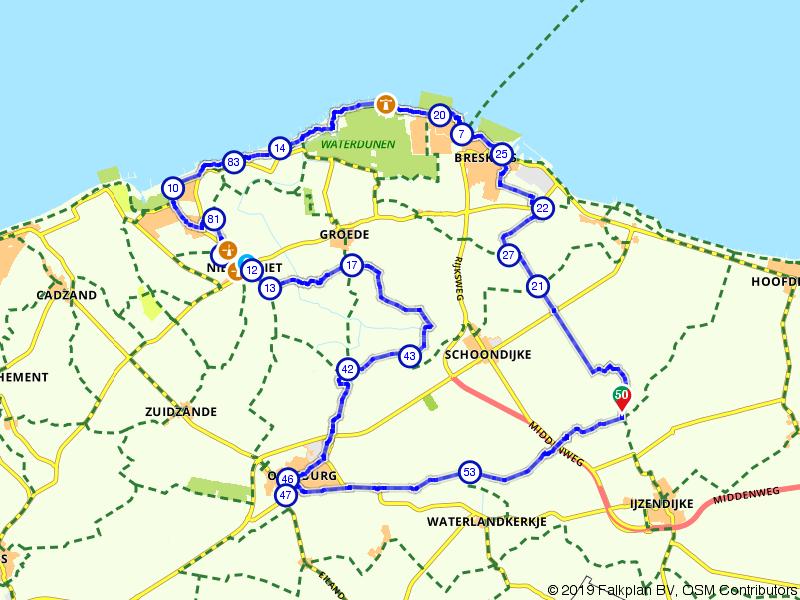 Breskens, Nieuwvliet-Bad en Oostburg