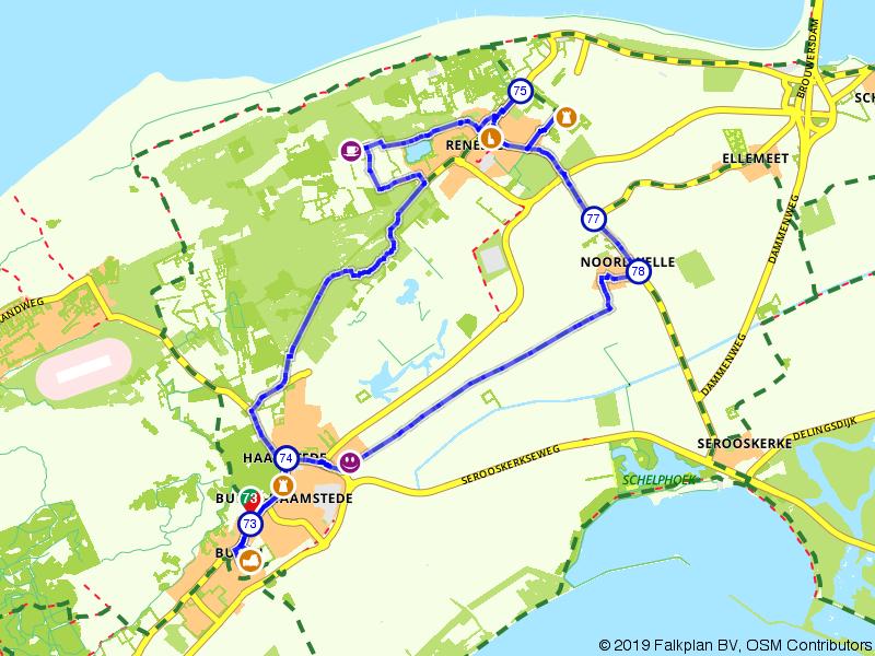Kastelenroute Schouwen-Duiveland