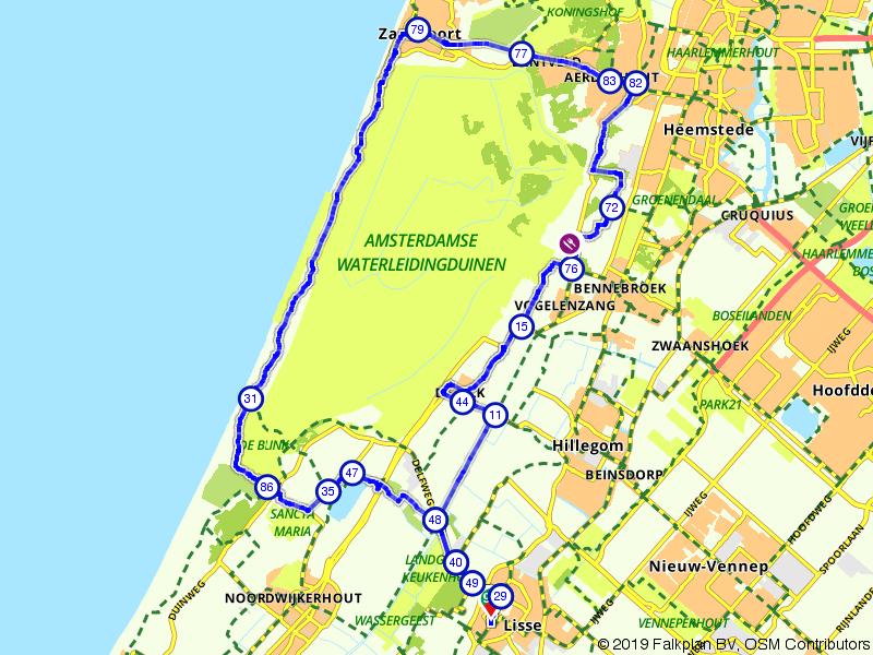 De Hollandse Wildspot route
