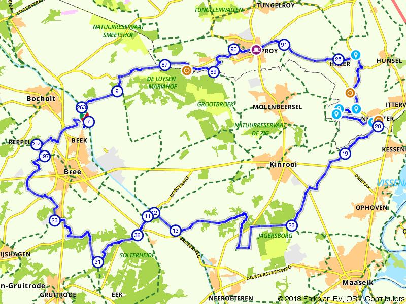 Historische watermolens in de Limburgse Kempen