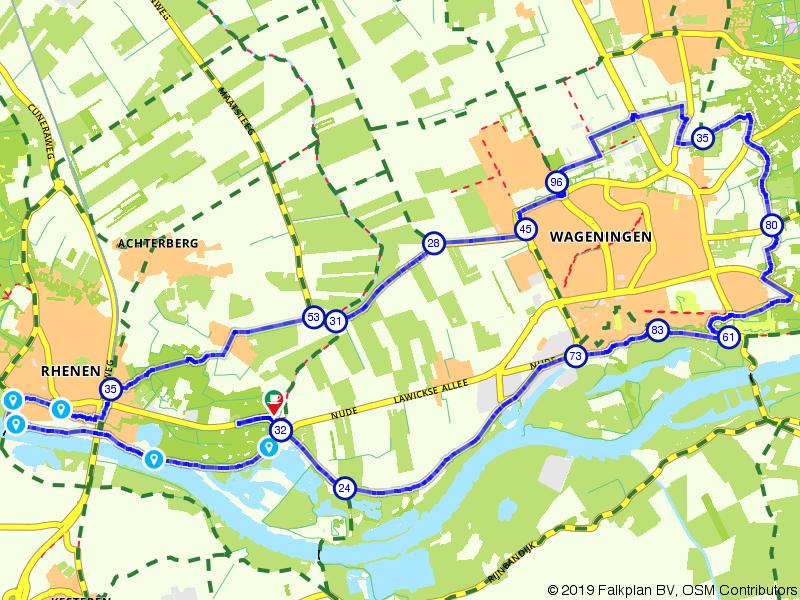 Langs de Rijn tussen Rhenen en Renkum