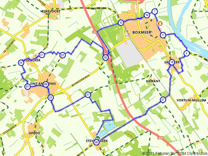 Langs de Maas bij Boxmeer