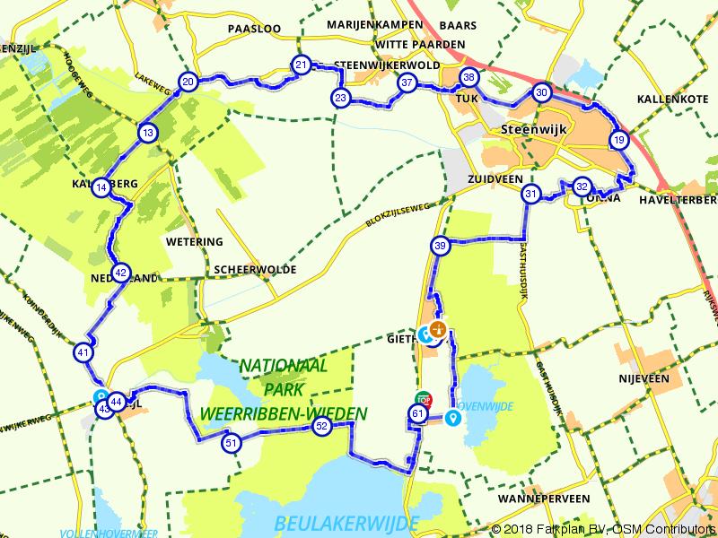 Giethoorn en Nationaal Park De Weerribben