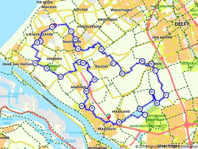 Vanuit Hoek van Holland naar Midden-Delfland