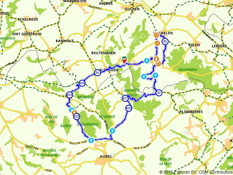 Kastelen- en watermolenroute in Nederland en België