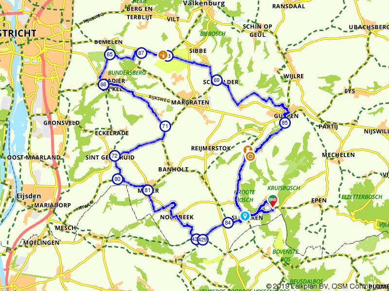 Fietsen door het mooie Limburg